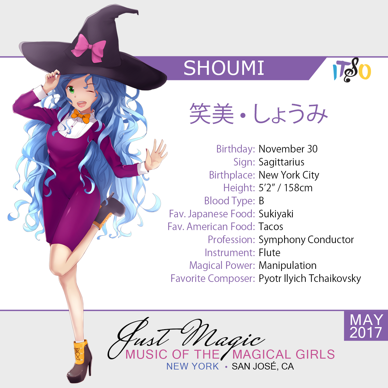 Shoumi, the Magical Conductor