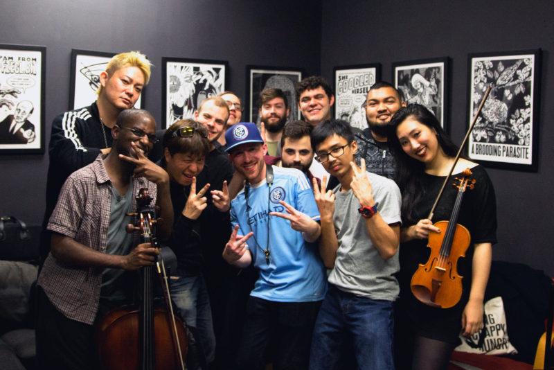 iTSO with Lotus Juice and Taku Iwasaki
