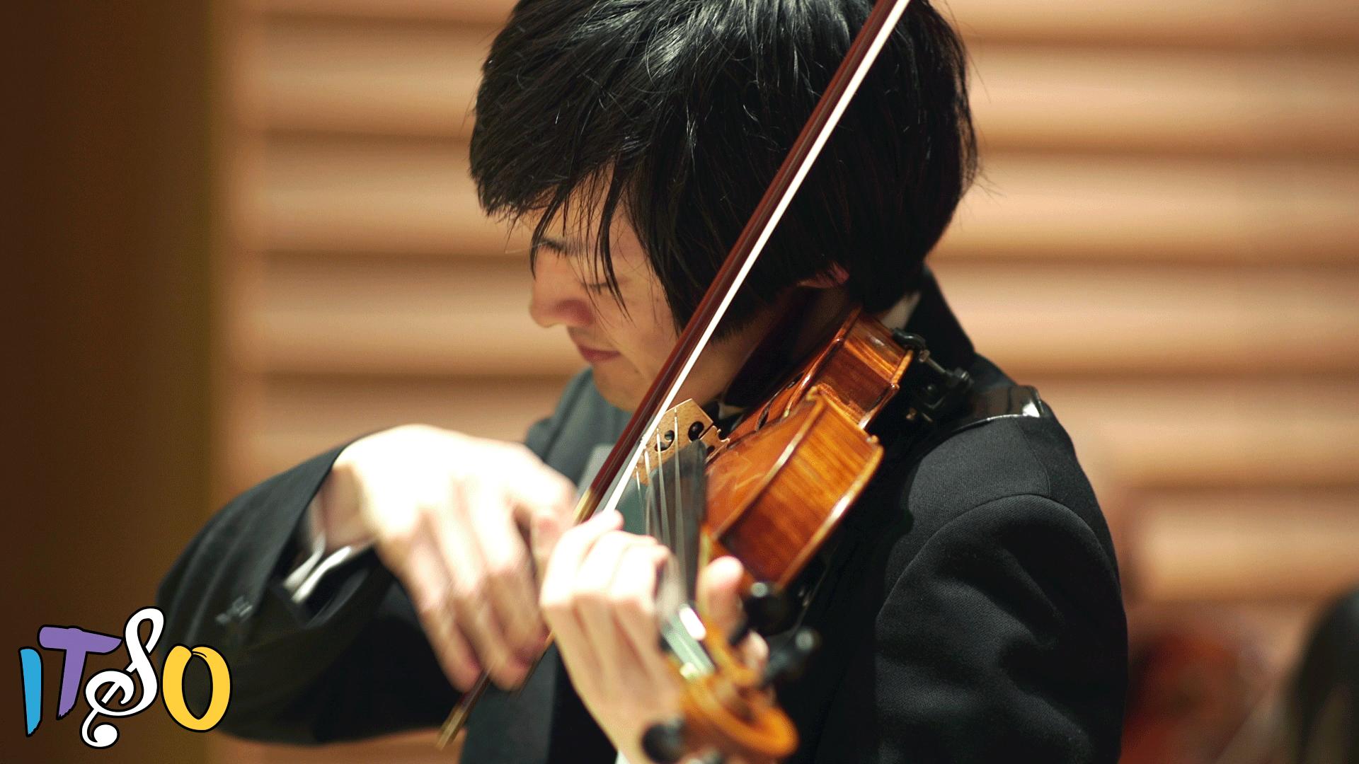Violin soloist, iTSO